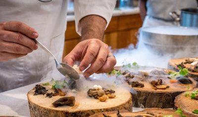 Repas préparé par Julien Lapraille