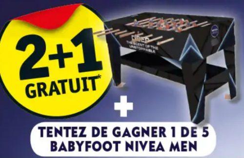 babyfoot nivea