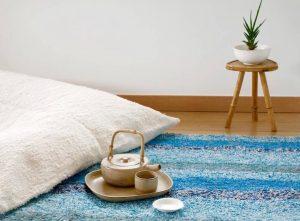 Pouf tapis
