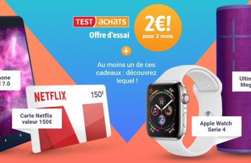 Test achats concours